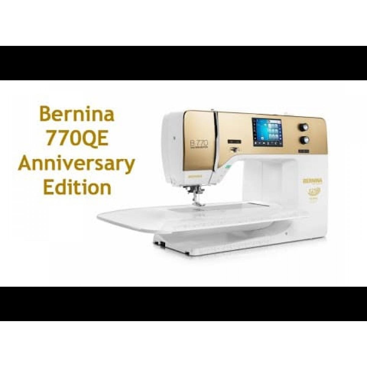 Berninа 770 QE Anniversary Edition