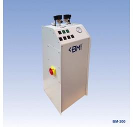 парогенератор с две ютии Rotondi BM 200 с непрекъснат режим на зареждане