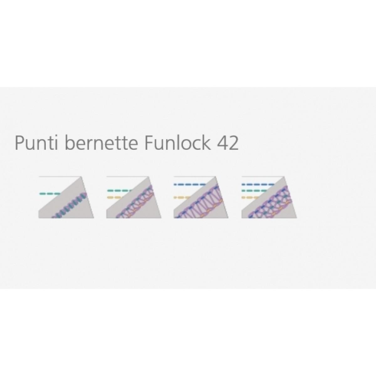 покривна машина Bernette b 42 Funlock