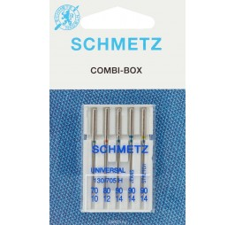 комплект игли - за памук, за дънки и за трико SCHMETZ 705 H
