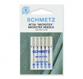 комплект игли за коприна и шифон SCHMETZ 705H MICROTEX