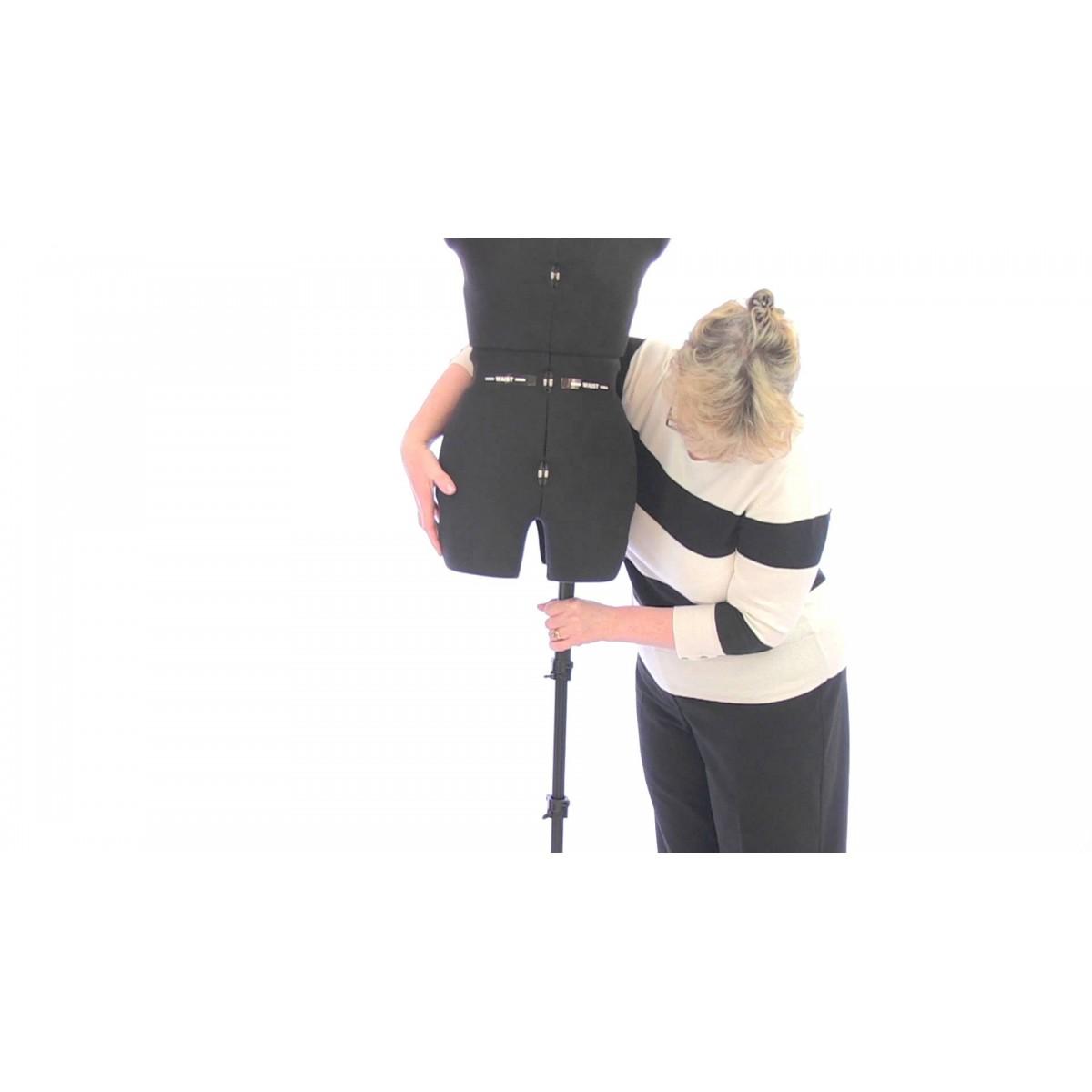 Шивашки манекен дамски голям за панталони - Sew Deluxe В